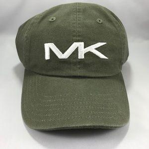 Michael Kors Men's Hat Dark Green Strapback